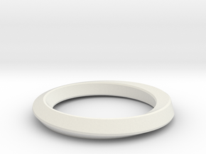 Mobius Band in White Strong & Flexible