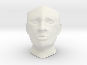 Gyro head c in White Strong & Flexible