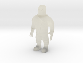 Spaceman (28mm) in Transparent Acrylic