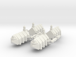 Gothic Transport x4 in White Strong & Flexible