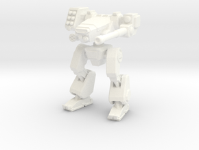 Terran Combat Walker in White Strong & Flexible Polished