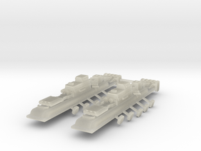 9 Air Frigate x2 in Transparent Acrylic