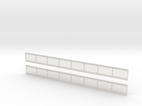 OO Lattice Girders 200mm in White Strong & Flexible
