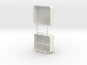Ring Box in White Strong & Flexible
