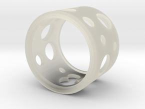 Emental ring in Transparent Acrylic
