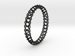 Gyroid Bracelets in Black Strong & Flexible