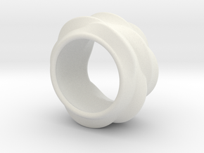 Tree-Ear Light Ring in White Strong & Flexible