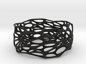 Interstice Bracelet in Black Strong & Flexible
