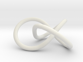 Prime Knot 3.1 in White Strong & Flexible