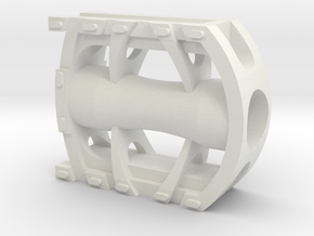 Bicycle Pedal 1/3rd scale in White Strong & Flexible