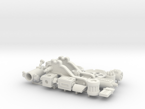 W4K10 MK4 Gun Kit in White Strong & Flexible