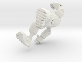 Robot Punch in White Strong & Flexible