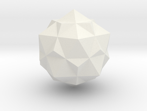tron bit neutral compound of dodecahedron and icos in White Strong & Flexible