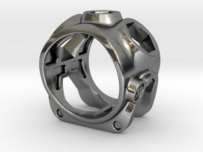 1086 ToolRing - size 10 (19,80 mm) in Polished Silver