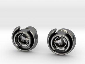 Love Song Cufflinks in Premium Silver