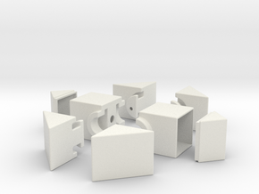 Fisher 1x2x3 in White Strong & Flexible