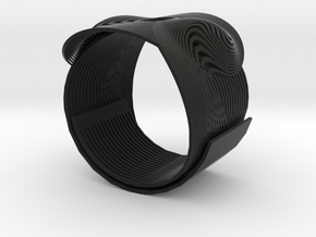 DualNexus Bracelet in Black Strong & Flexible