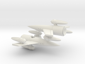 "R-Rocket ""Earth""-Class Tiny in White Strong & Flexible"