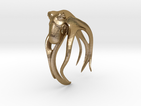 Octo, No.1 in Polished Gold Steel