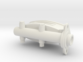 1/8 scale brakecylinder in White Strong & Flexible