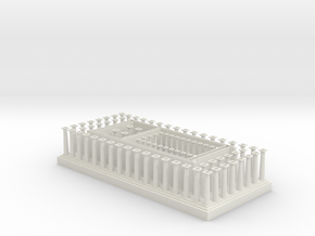 Parthenon Lower Section in White Strong & Flexible
