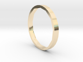 Square One - Sz. 7 in 14K Gold