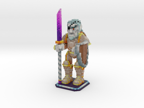 Voxel Art: Jôrek  in Full Color Sandstone