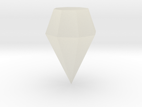 downloadable diamond in Transparent Acrylic