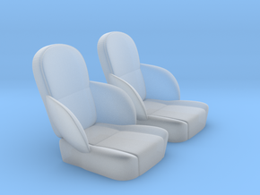1/24 50s Sport Seat Pair in Frosted Ultra Detail