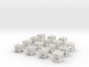 Grid Die All Pack 4 of 13 in White Strong & Flexible
