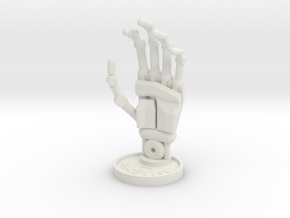 Sculpture Hand 100mm in White Strong & Flexible