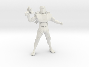 Spacey Box Head 1.75 in White Strong & Flexible