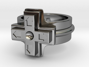Ring of the gamer in Premium Silver