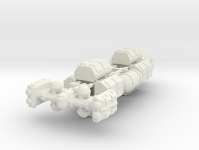 Cargo Tug: Loaded in White Strong & Flexible