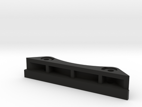 CC01 front bodymount 10mm lift in Black Strong & Flexible