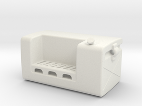 Fuel-tank-small LH in White Strong & Flexible