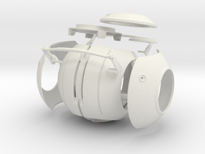 Space Core parts (V2) in White Strong & Flexible
