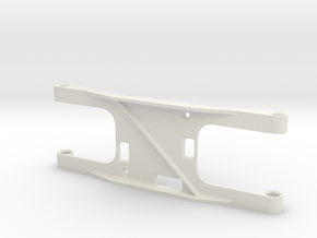 FLIP FPV Camera Mount in White Strong & Flexible