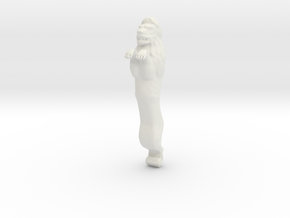 XVI c. lion figurehead_v2. in White Strong & Flexible