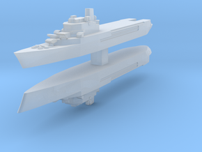 Jeanne d'Arc helicopter cruiser 1:4800 x2 in Frosted Ultra Detail