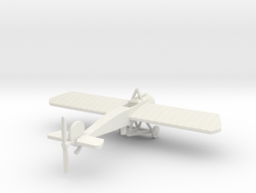 FOKKER EIII  IN 1/144th  in White Strong & Flexible