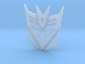 decepticon logo in Frosted Ultra Detail