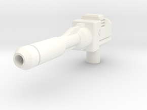 Lambo rifle in White Strong & Flexible Polished