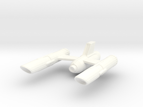 Ship Part in White Strong & Flexible Polished