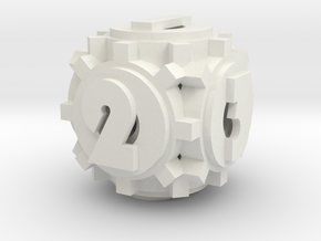 Gear Die in White Strong & Flexible