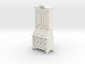 1:24 Secretary Cabinet in White Strong & Flexible