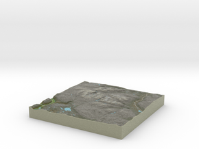 Terrafab generated model Sat Jan 11 2014 12:32:46  in Full Color Sandstone