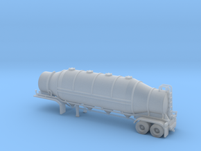 N scale 1/160 Dry Bulk 1625 Trailer 09b in Frosted Ultra Detail
