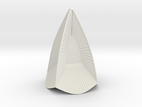 tensioned minimal surface 12 edges b in White Strong & Flexible