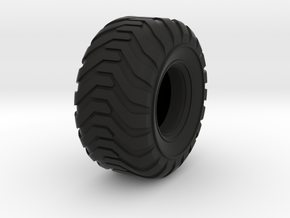 Industrial Style Floater Tire in Black Strong & Flexible